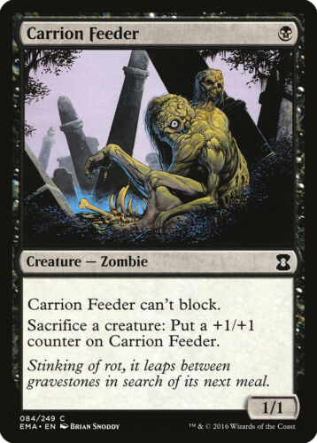 Carrion Feeder Eternal Masters NM Black Common MAGIC GATHERING CARD ABUGames