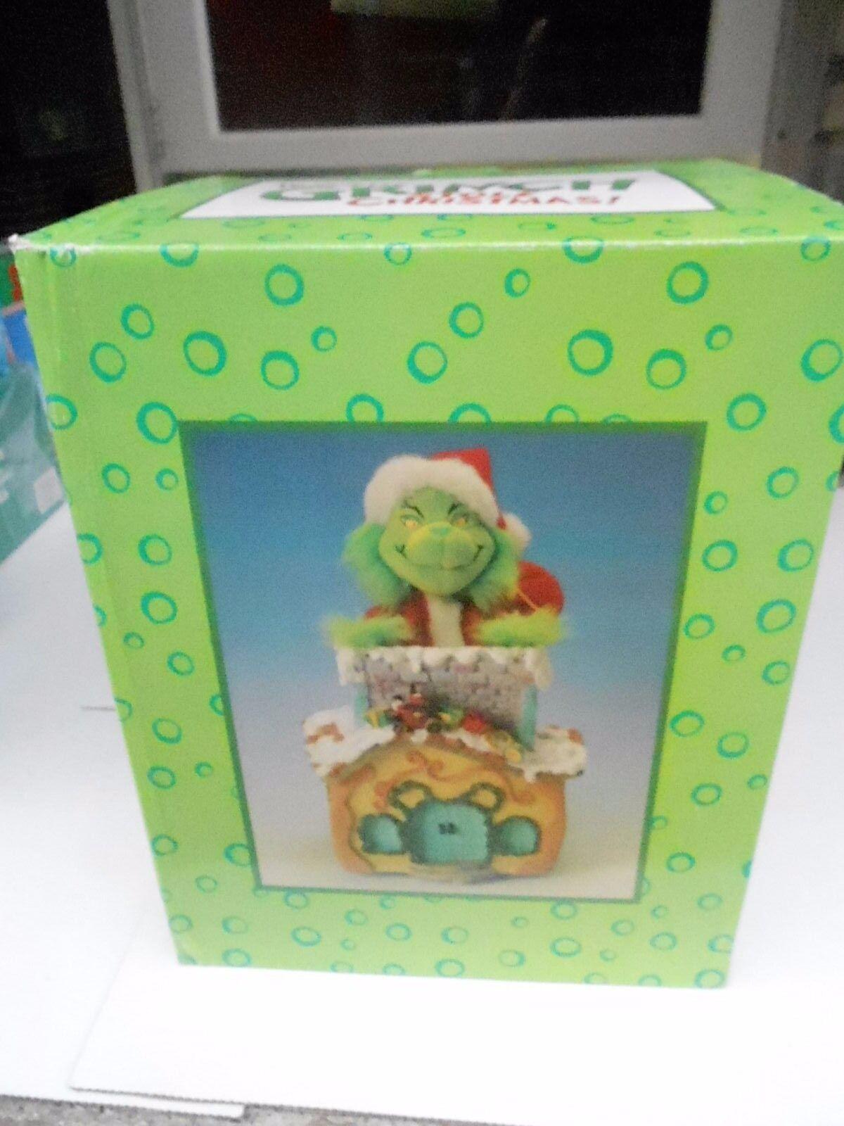 2000 Disegna Limitato come The Grinch Stole Natale Animated Musicale Camino