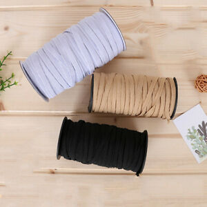 10M-Flat-Elastic-Band-Webbing-Cloth-Lace-Dress-Rubber-Trim-Ribbon-Sew-DIY-Crafts