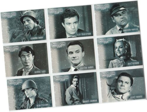 """Shadows /& Substance Twilight Zone Series 3 9 Card /""""Stars/"""" Chase Set S19-S27"""