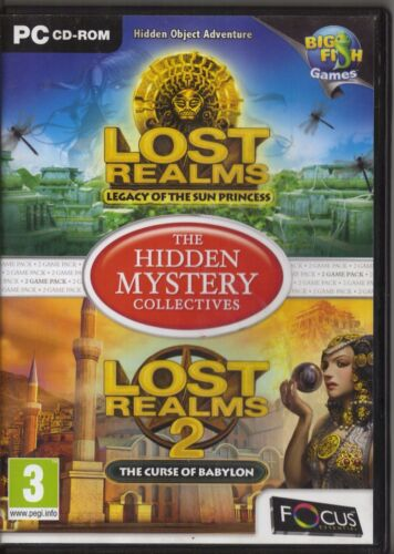 1 of 1 - Lost Realms 1 and 2 - The Hidden Mystery Collectives (PC, 2010) - European...