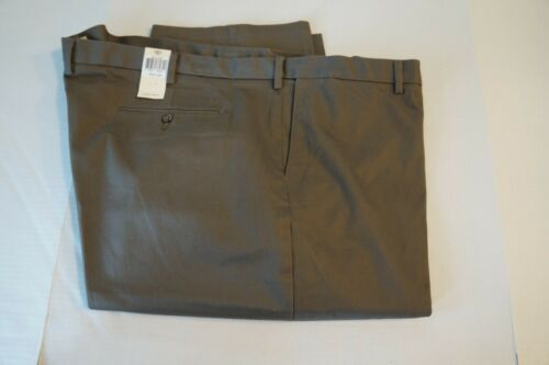 Men/'s Dockers Pants No Wrinkle Signature Khaki Classic Fit Flat Front Cotton New