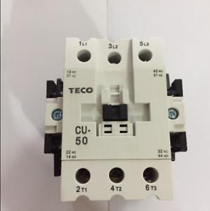 New  TECO CU-50 AC380V  Ac contactor  free shipping