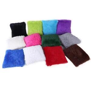Fluffy-Shaggy-Plush-Square-Pillow-Case-Sofa-Waist-Throw-Cushion-Cover-Home-Decor