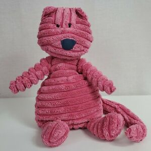 Jellycat-Cordy-Roy-Pink-Cat-Plush-Stuffed-Animal-Long-Tail-10-034-Baby-Toy