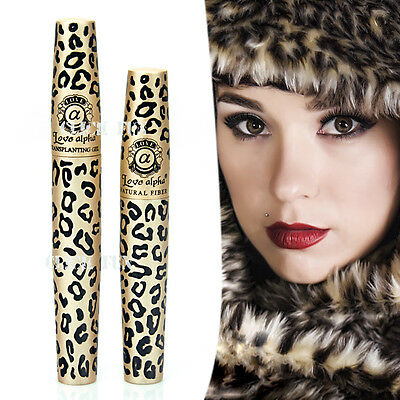 Premium Fibre Leopard Mascara Brush Love Alpha Natural Transplanting Gel Set AU