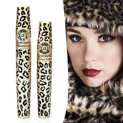Premium Fibre Leopard Mascara Brush Love Alpha Natural Transplanting Gel Set AU