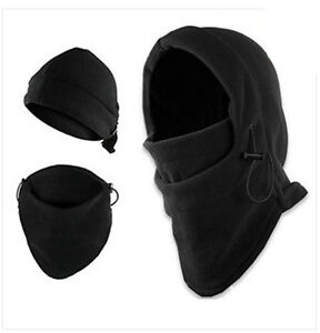 Outdoor 3in1 Full Face Cover Caps Ski Mask Beanie Police Swat Mask ... f2b113dd26c8