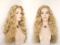 Dramatic 32 In Long Wavy Hairstyle With A Natural Look Skin Top In 28 Colors Wig