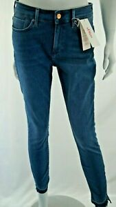 S.Oliver Denim Skinny Ankle Jeans 14.103.72.X016 Jeans With Fransensaum New