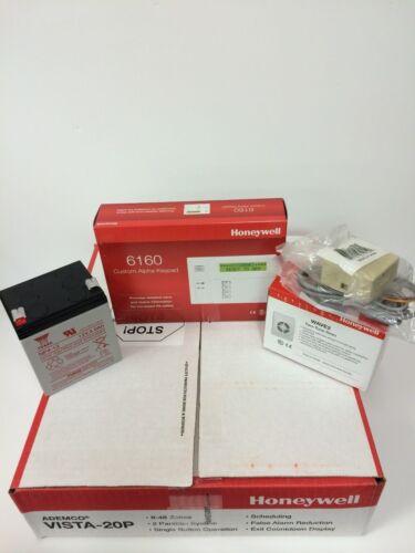 Battery Siren Jack /& Cord 6160 keypad BEST VALUE ON Honeywell Vista 20P