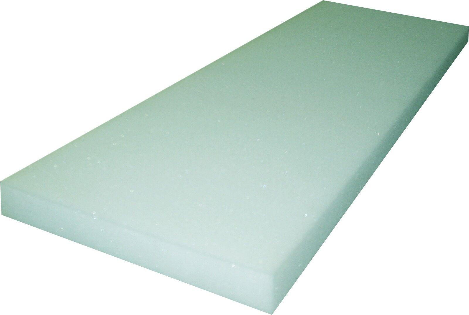 Schaumstoffplatte Schaumgummi Matratze fest 100/200 cm RG 40