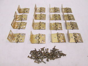 Image Is Loading 16 Br Cabinet Hinges With 64 Flush S