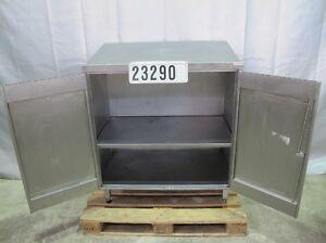 Edelstahl-Schreibpult-Schrank-Arbeitsschrank-Werkzeugschrank-Lagerschrank-23290