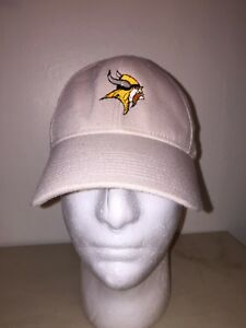 buy popular f963c 0578b Details about NIKE TAN MINNESOTA VIKINGS FITTED S/M UNISEX HAT