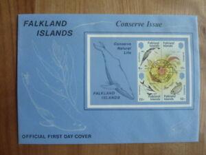 """PréCis Fdc îles Malouines-falkland Island 5.11.1984 """"conserve Natural Life""""-afficher Le Titre D'origine CoûT ModéRé"""