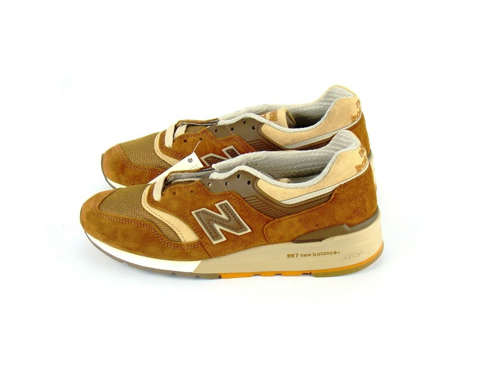 DS J Crew x New Balance 997 M997JC1 Butterscotch Sz 7.5 cortado moonshot 998 999