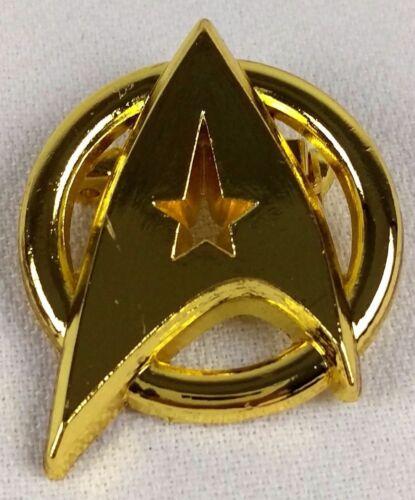 GOLD Communicator Pin Captain Kirk Federation STAR TREK Starfleet