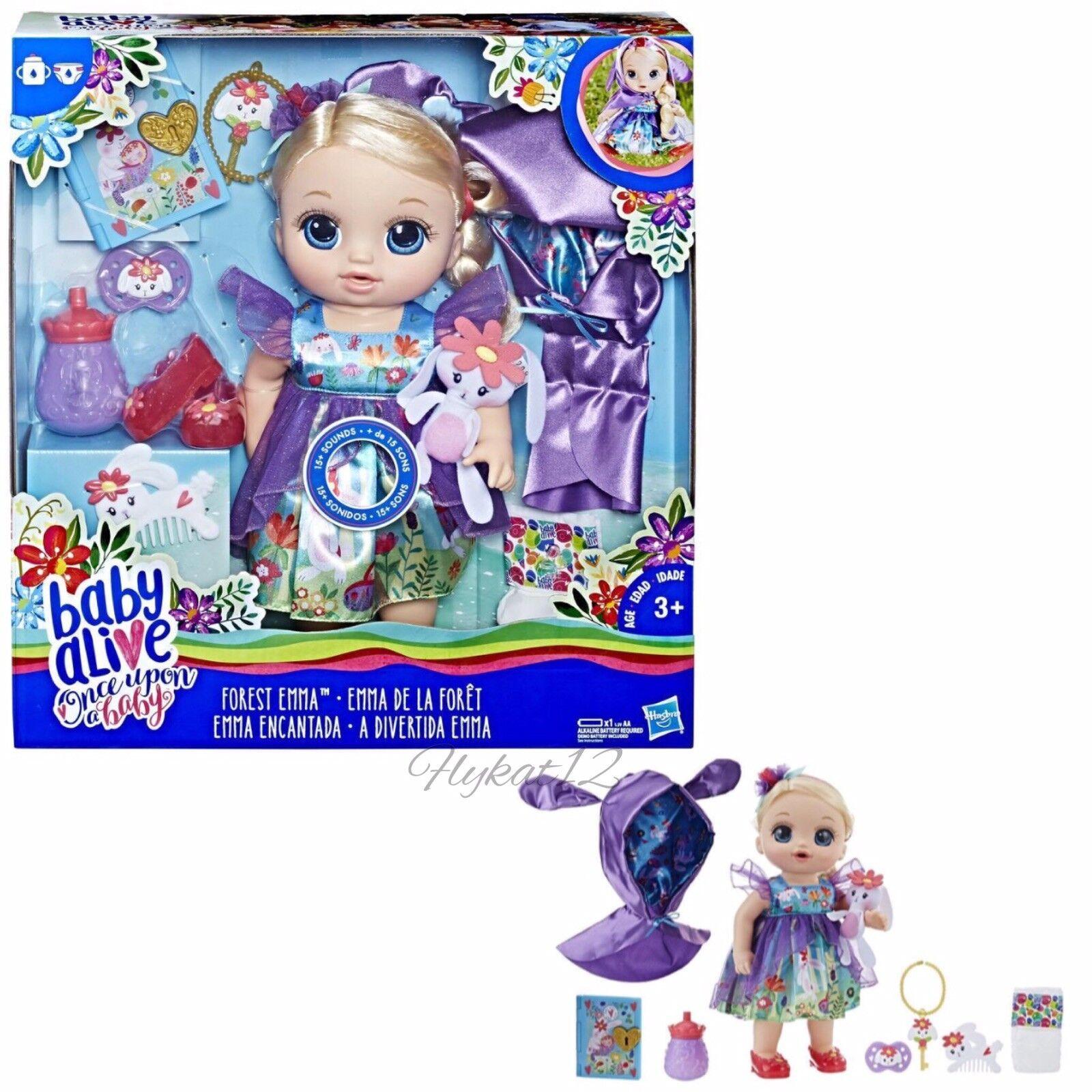 Baby Alive Edición Especial Once Upon a bebé Bosque Cuentos Bosque Emma Rubio