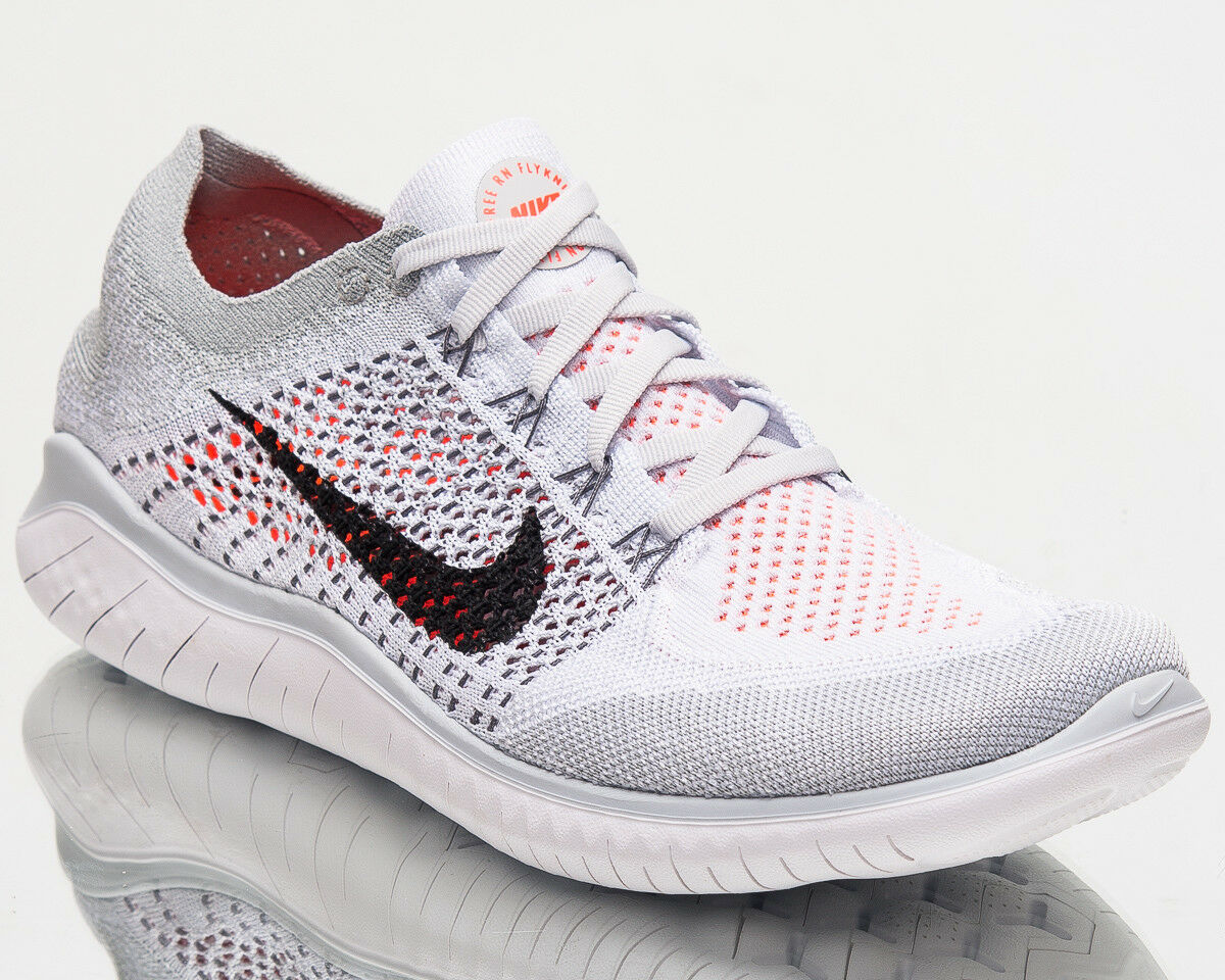 Nike Free RN Flyknit 2018 Men Running Shoes Men New Pure Platinum 942838-003