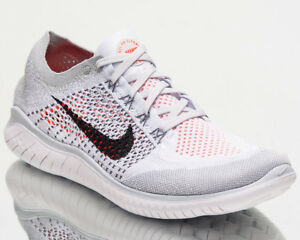 37ae68ca444f Nike Free RN Flyknit 2018 Men Running Shoes Men New Pure Platinum ...