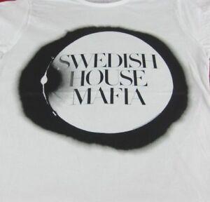 SWEDISH-HOUSE-MAFIA-T-SHIRT-Electronic-dance-music-trio-Size-Large