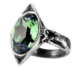 Genuine-Alchemy-Gothic-Ring-Absinthe-Fairy-Spirit-Crystal-Ladies-Ring