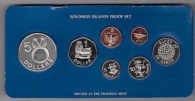 1 CENT 7 DIF UNC COINS SET 1$ 2010 YEAR BIMETAL COOK ISLANDS