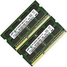 Samsung 8GB 2x4GB DDR3-1333MHz PC3-10600 Unbuffered Laptop Memory RAM