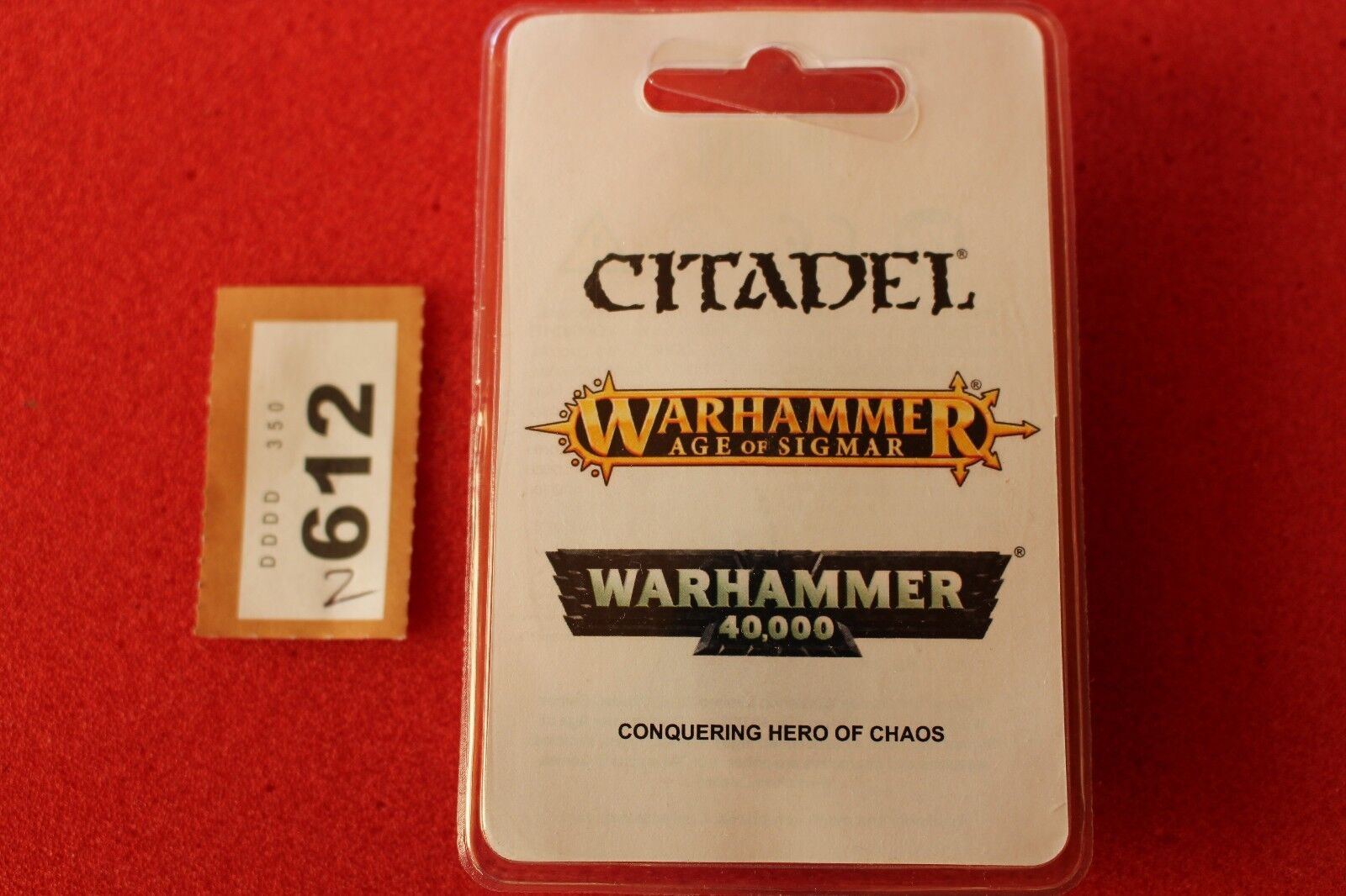 Games Workshop Warhammer Vardek Crom the Conqueror Hero of Chaos BNIB New Resin