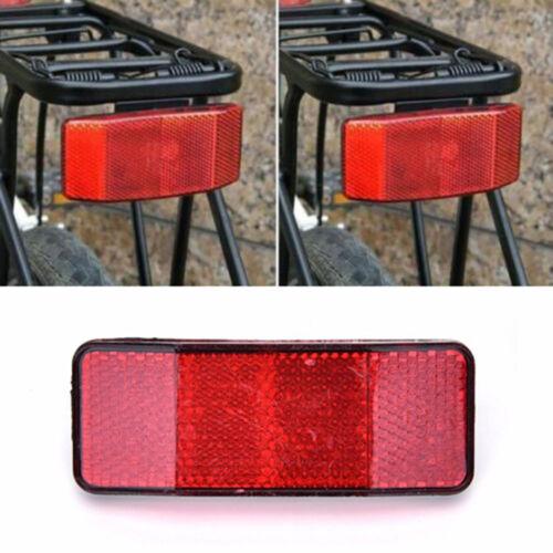 DZ837 Bicycle Bike MTB Safety Caution Warning Reflector Disc Rear Pannier Racks