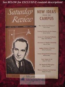 Saturday-Review-June-14-1952-RAYMOND-BAUER-ALFRED-FRANKENSTEIN-THOMAS-B-COSTAIN