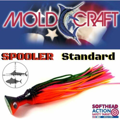 "Mold Craft Softhead Lures Spooler Standard 8/"" 21Cm"