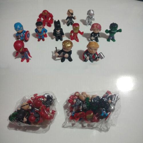 12pcs//set New Avengers toys mini the Avenger Figures Bat Hulk  man action Figure