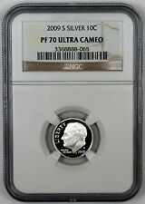 2009 S SILVER NGC PF 70 ULTRA CAMEO ROOSEVELT DIME