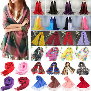 Women-039-s-Winter-Scarf-Soft-Long-Shawls-Wrap-Warm-Pashmina-Stole-Blanket-Scarves