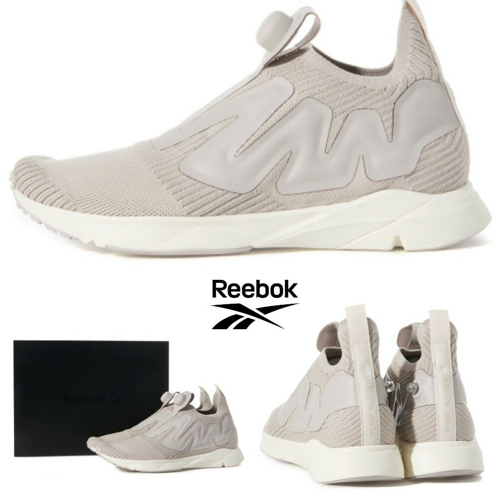 REEBOK Pump Supreme Style Classic Casual Sneakers Shoes Grey CN1877 SZ4-13 �