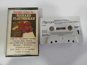 RICHARD-CLAYDERMAN-GRANDES-EXITOS-DE-CASSETTE-TAPE-CINTA-OLYMPO-1983