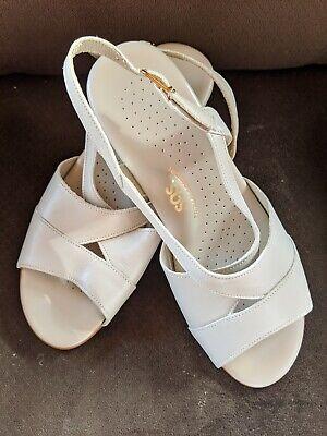 BOTTEGA VENETA BV Curve White Leather Sandals Mules Size