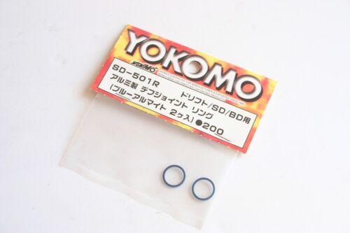SD-501R Yokomo MR-4TC SD Aluminium Diff Joint Rings