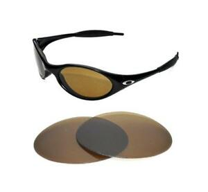 b5a9617fa93 Image is loading NEW-POLARIZED-BRONZE-REPLACEMENT-LENS-FOR-OAKLEY-EYE-
