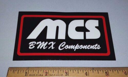 OLD SCHOOL BMX MCS BMX STICKER