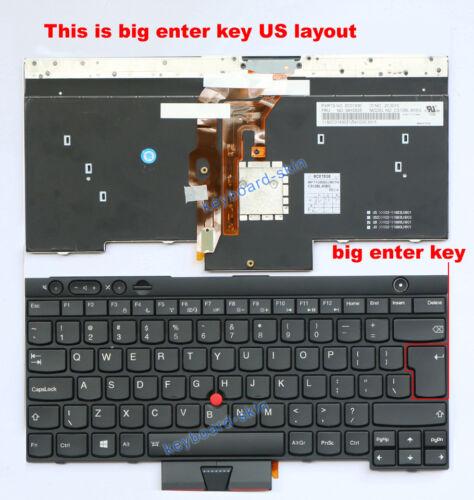 OEM lenovo IBM Thinkpad X230 T430 T530 W530 Keyboard backlit V130020CS3 04Y0639