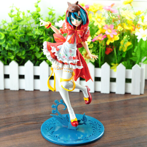 New in Box 23CM Hatsune Miku Red Riding Hood PVC Action Anime Figure Toy