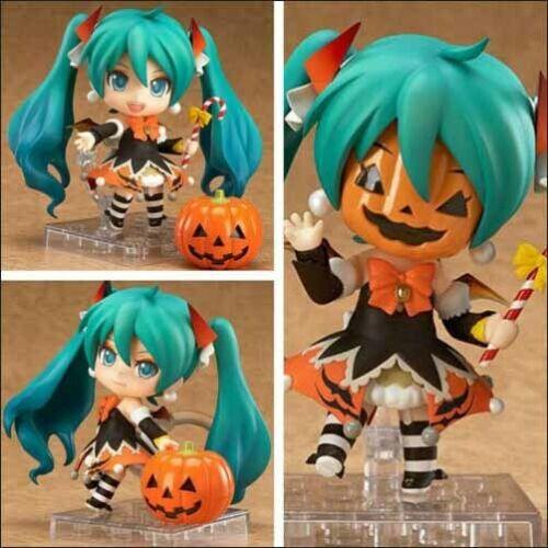Nendoroid 448 Hatsune Miku Halloween PVC Action Figure Model Toy Gift No Box