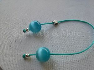Greek-begleri-aqua-cat-eye-14mm-bead-charm-turquoise-cord-star-tinas-creations