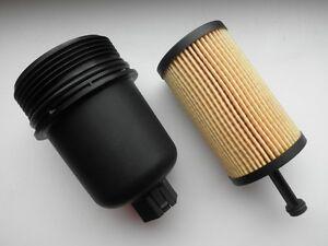Oil Filter Housing Top Cover & Filter To Citroen C2 C3 Xsara Peugeot