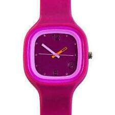 Urbanz Temps Génial à la Mode Jumbo Cristal de Montre-bracelet Rose