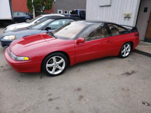 1994 Subaru SVX Red
