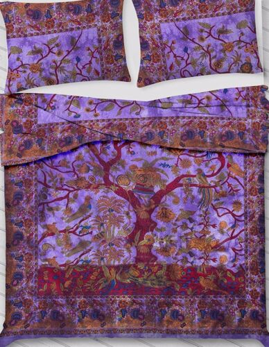 Wonderful Design Tree Of Life Bedding Comforter Quilt Cover Indian Duvet Set Art